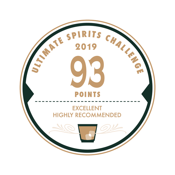 Ultimate Spirits Challenge awarded 93 points