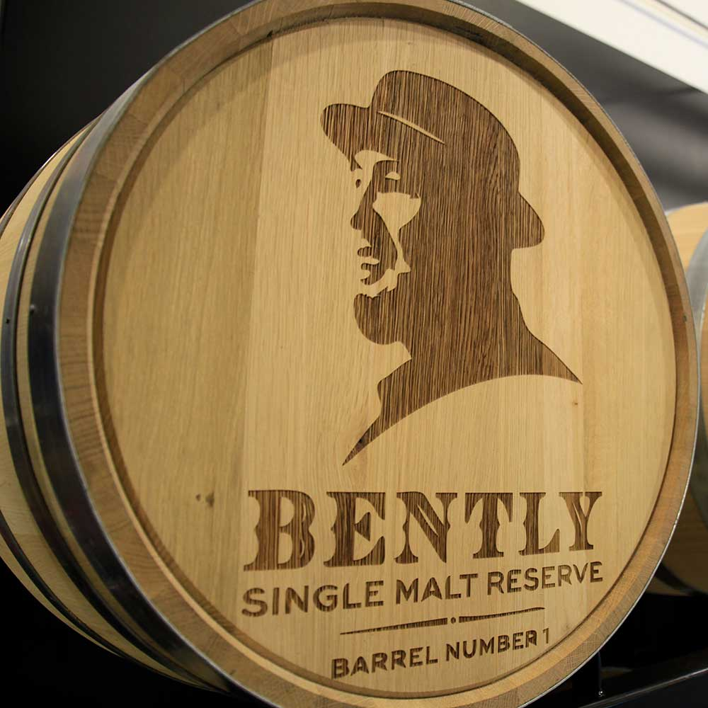 A Bently Heritage Barrel