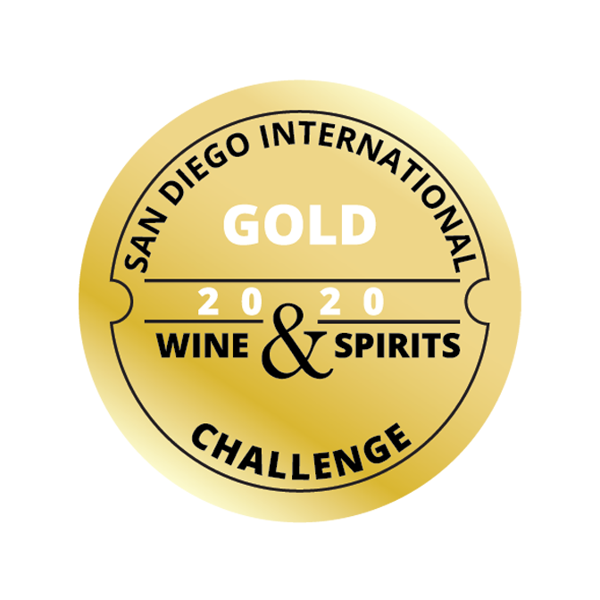 San Diego Internatinoal Challenge Gold Award for Spirits