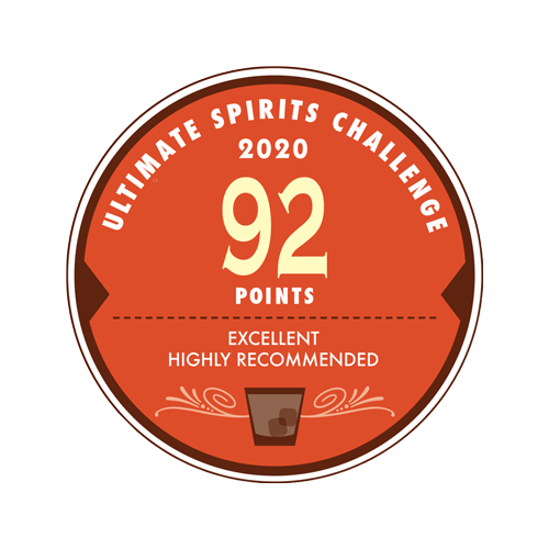 2020 ULTIMATE SPIRITS CHALLENGE 92 Points