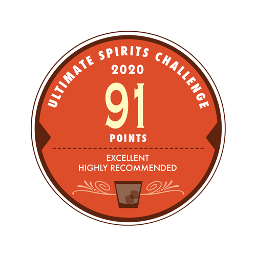 2020 ULTIMATE SPIRITS CHALLENGE 91 Points